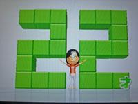 Wii Fit Plus 10月5日のバランス年齢 22歳