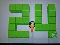 Wii Fit Plus 10月8日のバランス年齢 24歳