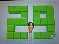 Wii Fit Plus 10月10日のバランス年齢 29歳