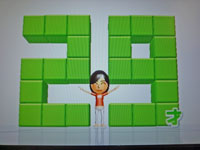 Wii Fit Plus 10月11日のバランス年齢 29歳