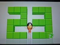 Wii Fit Plus 10月12日のバランス年齢 23歳