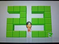 Wii Fit Plus 10月14日のバランス年齢 23歳