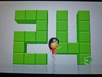 Wii Fit Plus 10月29日のバランス年齢 24歳