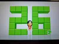 Wii Fit Plus 11月2日のバランス年齢 26歳