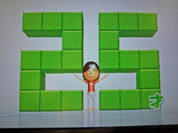 Wii Fit Plus 11月3日のバランス年齢 25歳