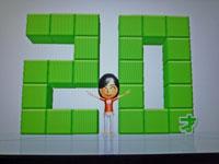 Wii Fit Plus 11月5日のバランス年齢 20歳