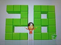 Wii Fit Plus 11月6日のバランス年齢 28歳
