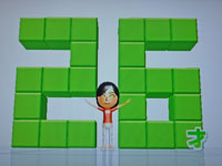 Wii Fit Plus 11月14日のバランス年齢 26歳