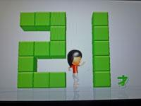 Wii Fit Plus 11月15日のバランス年齢 21歳