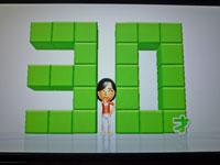 Wii Fit Plus 11月16日のバランス年齢 30歳