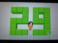 Wii Fit Plus 11月20日のバランス年齢 29歳