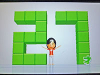 Wii Fit Plus 11月22日のバランス年齢 27歳