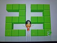 Wii Fit Plus 11月23日のバランス年齢 23歳