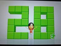 Wii Fit Plus 11月29日のバランス年齢 28歳