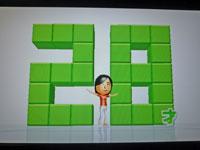 Wii Fit Plus 11月30日のバランス年齢 28歳