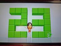 Wii Fit Plus 12月2日のバランス年齢 23歳