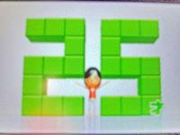 Wii Fit Plus 12月5日のバランス年齢 25歳