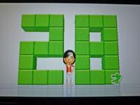 Wii Fit Plus 12月6日のバランス年齢 28歳