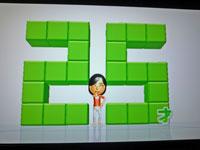 Wii Fit Plus 12月7日のバランス年齢 25歳