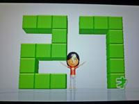 Wii Fit Plus 12月8日のバランス年齢 27歳