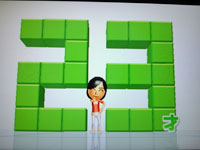 Wii Fit Plus 12月12日のバランス年齢 23歳
