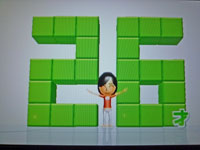 Wii Fit Plus 12月14日のバランス年齢 26歳