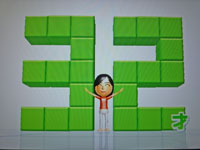 Wii Fit Plus 12月16日のバランス年齢 32歳
