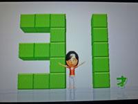 Wii Fit Plus 12月19日のバランス年齢 31歳