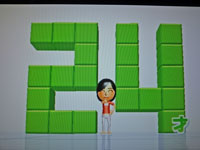 Wii Fit Plus 12月20日のバランス年齢 24歳
