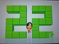 Wii Fit Plus 12月26日のバランス年齢 22歳