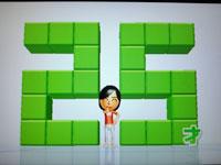 Wii Fit Plus 12月28日のバランス年齢 25歳