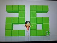 Wii Fit Plus 12月29日のバランス年齢 26歳