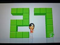 Wii Fit Plus 1月1日のバランス年齢 27歳