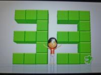 Wii Fit Plus 1月4日のバランス年齢 33歳