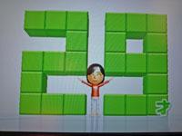 Wii Fit Plus 1月11日のバランス年齢 29歳