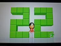 Wii Fit Plus 1月12日のバランス年齢 22歳