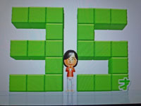 Wii Fit Plus 1月14日のバランス年齢 35歳