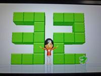 Wii Fit Plus 1月15日のバランス年齢 32歳