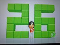 Wii Fit Plus 1月18日のバランス年齢 26歳