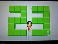 Wii Fit Plus 2011年1月24日のバランス年齢 23歳