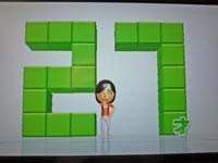 Wii Fit Plus 2011年1月25日のバランス年齢 27歳