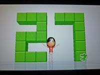 Wii Fit Plus 2011年1月27日のバランス年齢 27歳