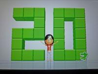 Wii Fit Plus 2011年1月28日のバランス年齢 20歳