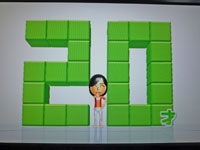 Wii Fit Plus 2011年2月2日のバランス年齢 20歳