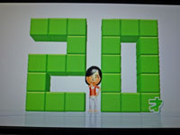 Wii Fit Plus 2011年2月7日のバランス年齢 20歳