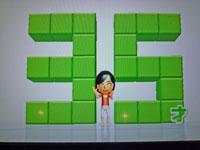Wii Fit Plus 2011年2月8日のバランス年齢 35歳