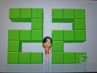 Wii Fit Plus 2011年2月10日のバランス年齢 22歳