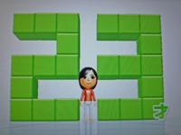 Wii Fit Plus 2011年2月13日のバランス年齢 23歳