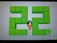Wii Fit Plus 2011年2月15日のバランス年齢 22歳