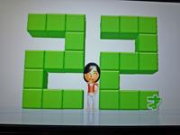 Wii Fit Plus 2011年2月16日のバランス年齢 22歳